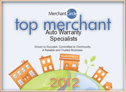 Merchant Circle Top Merchant Award Winner Six years running
